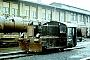 """BMAG 10502 - DR """"Werklok Raw Meiningen"""" 02.03.1989 - Meiningen, ReichsbahnausbesserungswerkReinhold Posselt"""