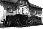 """Deutz 10943 - ÖBB """"X 112.01"""" 14.07.1984 - Villach, BahnhofJ. Fugger (Archiv Frank Glaubitz)"""