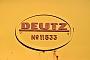Deutz 11533 - Railoc 22.09.2015 - UdineFrank Glaubitz