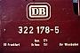 """Deutz 20076 - DB """"322 178-5"""" __.06.1975 - Wiesbaden, BahnbetriebswerkJörg Theinert"""