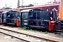 """Deutz 46543 - DR """"310 861-0"""" 29.05.1992 - Riesa, BahnbetriebswerkFrank Glaubitz"""