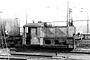 "Deutz 46989 - DB ""322 033-2"" 01.04.1975 - Oberhausen, Bahnbetriebswerk Oberhausen-Osterfeld SüdGünter Krall (Archiv Mathias Lauter)"