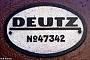 "Deutz 47342 - NIAG ""7"" 00.09.1986 - Rheinberg-Orsoy, NIAG HafenRolf Alberts"