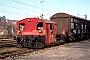 """Deutz 47350 - DB """"323 052-1"""" 01.12.1986 - LeonbergWerner Brutzer"""