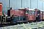 """Deutz 55741 - DB """"323 492-9"""" 09.07.1980 - Bremen, AusbesserungswerkNorbert Lippek"""