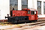 """Deutz 55744 - DB """"323 079-4"""" 06.07.1986 - Haltingen, BahnbetriebswerkDietmar Stresow"""