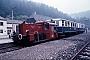 """Deutz 55746 - DFS """"Köf 6204"""" 25.07.1982 - Behringersmühle, BahnhofErnst Lauer"""