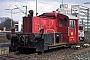 """Deutz 56052 - DB """"323 088-5"""" 24.03.1993 - Braunschweig, Hauptbahnhof? (Archiv Ingmar Weidig)"""