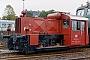 """Deutz 57001 - DB """"323 091-9"""" 10.10.1984 - Gießen, BahnbetriebswerkMalte Werning"""