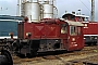 """Deutz 57014 - DB """"323 104-0"""" 31.08.1985 - Aachen-West, BahnbetriebswerkDieter Spillner"""