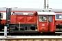 """Deutz 57266 - DB """"323 121-4"""" 12.04.1988 - Hamm, BahnbetriebswerkBallon (Archiv Werner Brutzer)"""