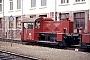 "Deutz 57271 - DB ""323 127-1"" 13.07.1982 - Mannheim, Bahnbetriebswerk Rolf Köstner"