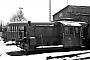 """Deutz 57273 - DB """"323 128-9"""" 06.01.1980 - Bestwig, BahnbetriebswerkMichael Hafenrichter"""