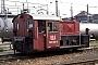 """Deutz 57273 - DB AG """"323 128-9"""" 18.06.1996 - Karlsruhe, BetriebshofWerner Brutzer"""