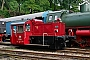 "Deutz 57278 - Lokvermietung Aggerbahn ""323 133-9"" 02.10.2005 - Dieringhausen, MuseumMalte Werning"