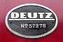 """Deutz 57278 - Lokvermietung Aggerbahn """"323 133-9"""" 18.04.2009 - GerolsteinPeter Gerber"""