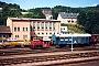 """Deutz 57350 - DB """"323 247-7"""" 26.07.1990 - Gerolstein, BahnhofAndreas Kabelitz"""