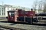 """Deutz 57926 - DB """"323 346-7"""" 08.04.1987 - Bremen, AusbesserungswerkNorbert Lippek"""