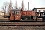 """Gmeinder 4668 - DB """"324 044-7"""" 12.02.1986 - Bremen, AusbesserungswerkNorbert Lippek"""