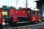 """Gmeinder 4678 - DB """"322 175-1"""" 25.06.1983 - Nürnberg, Bahnbetriebswerk 2Vogel (Archiv Werner Brutzer)"""