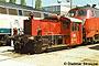 """Gmeinder 4681 - DB """"323 073-7"""" 29.04.1990 - Kaiserslautern, BahnbetriebswerkDietmar Stresow"""
