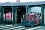 "Gmeinder 4790 - DB ""322 154-6"" 06.06.1980 - ?, BahnbetriebswerkDietmar Fiedel (Archiv Mathias Lauter)"