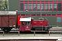 """Gmeinder 4797 - REF """"323 525-6"""" 18.04.2004 - Hamburg, AKN Werkstatt Billbrook/TiefstackHeinz Treber"""