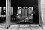 """Gmeinder 4852 - DB """"323 530-6"""" __.08.1981 - Husum, BahnbetriebswerkChristoph Beyer"""