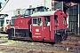 """Gmeinder 4860 - DB """"323 538-9"""" 27.07.1985 - Bebra, BahnbetriebswerkFrank Glaubitz"""