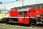 """Gmeinder 4863 - DB Fahrzeuginstandhaltung """"323 541-3"""" 20.09.2003 - Bremen-Sebaldsbrück, DB FahrzeuginstandhaltungAndreas Kabelitz"""
