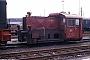 """Gmeinder 4868 - DB """"323 546-2"""" 02.05.1979 - Wuppertal-Steinbeck, BahnbetriebswerkMartin Welzel"""