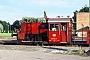 """Gmeinder 4894 - DB """"323 581-9"""" 08.07.1979 - Landshut, BahnbetriebswerkDietmar Fiedel (Archiv Mathias Lauter)"""