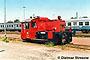 """Gmeinder 5023 - DB """"323 635-3"""" 28.06.1986 - Karlsruhe, BahnbetriebswerkDietmar Stresow"""