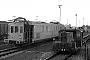 """Gmeinder 5023 - DB """"323 635-3"""" 09.04.1984 - Karlsruhe, BahnbetriebswerkChristoph Beyer"""