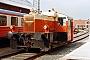 """Gmeinder 5061 - VLTJ  """"T 17"""" 07.07.1984 - Lemvig, VLTJ-BahnhofMalte Werning"""