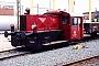"""Gmeinder 5102 - DB """"323 662-7"""" 13.06.1992 - Darmstadt, BahnbetriebswerkErnst Lauer"""