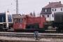 "Gmeinder 5108 - DB ""323 963-9"" 05.04.1988 - Ingolstadt, BahnbetriebswerkAndreas Burow"