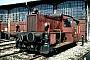 """Gmeinder 5139 - DB """"323 687-4"""" 19.04.1984 - München, Bahnbetriebswerk 1Benedikt Dohmen"""