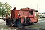 "Gmeinder 5148 - DB ""323 714-6"" 25.08.1988 - Freilassing, Bahnbetriebswerk Dietmar Stresow"