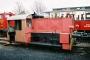 """Gmeinder 5160 - MECL """"Köf 6526"""" 19.03.2008 - Losheim (Saar), MECLSteffen Hartz"""