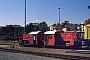 """Gmeinder 5175 - DB """"323 741-9"""" 12.07.1990 - Heilbronn, BahnbetriebswerkPeter Große (Archiv Frank Glaubitz)"""
