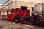 """Gmeinder 5183 - DB """"323 749-2"""" 17.05.1992 - Frankfurt (Main), Bahnbetriebswerk 2Axel Schaer"""