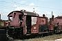 """Gmeinder 5187 - DB """"323 753-4"""" 14.08.1983 - Kornwestheim, BahnbetriebswerkNorbert Lippek"""