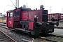 "Gmeinder 5197 - Railion ""323 763-3"" 04.12.2003 - Nürnberg, DB AG Werk RangierbahnhofBernd Piplack"
