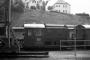 """Gmeinder 5218 - DB """"323 876-3"""" 10.08.1982 - Passau, BahnbetriebswerkBurkhard Beyer"""