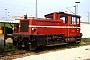 """Gmeinder 5261 - DB """"332 023-1"""" 25.05.1991 - Mannheim, Bahnbetriebswerk RbfWerner Brutzer"""