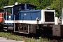 """Gmeinder 5267 - DB """"332 049-6"""" 21.05.1989 - Augsburg, BahnbetriebswerkKlaus J.  Ratzinger"""