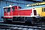 """Gmeinder 5305 - DB AG """"332 064-5"""" 24.01.1999 - Darmstadt, BahnbetriebswerkErnst Lauer"""