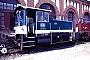 """Gmeinder 5386 - DB """"332 220-3"""" 16.05.1987 - Mannheim, BahnbetriebswerkErnst Lauer"""