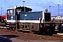 """Gmeinder 5386 - DB """"332 220-3"""" 31.01.1990 - Mannheim, BahnbetriebswerkErnst Lauer"""